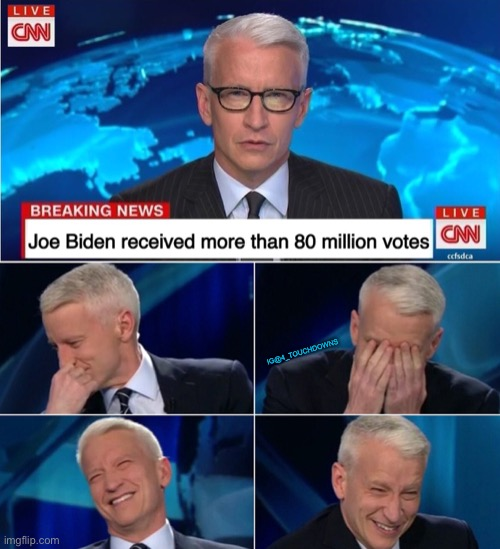This, is CNN |  IG@4_TOUCHDOWNS | image tagged in cnn,anderson cooper,election fraud | made w/ Imgflip meme maker