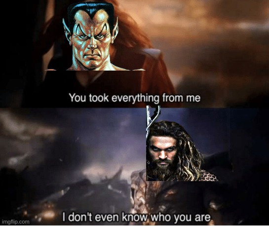 If Anyone who doesn't know it's that The Guy who is Scarlet is Namor The Sub Mariner and He Came First than Aquaman (It's true) | image tagged in namor,aquaman,dc comics,marvel comics,you had one job,dc | made w/ Imgflip meme maker