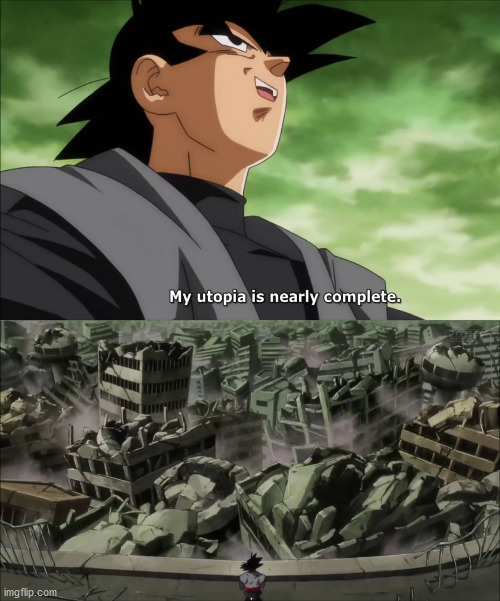 Goku Black Meme