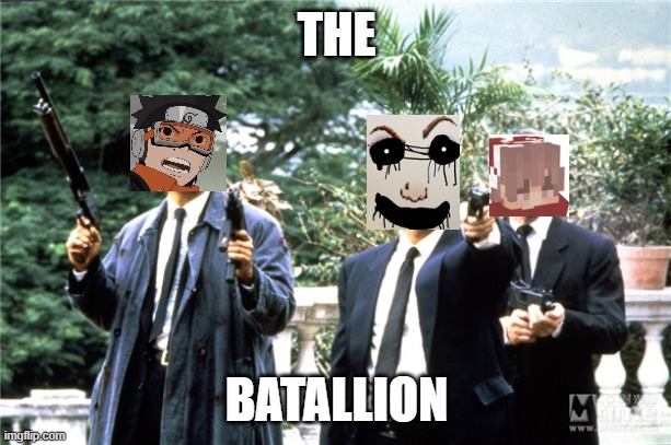 The batallion EGS UNITED edition |  THE; BATALLION | image tagged in the battalion,egs,united,eggs | made w/ Imgflip meme maker