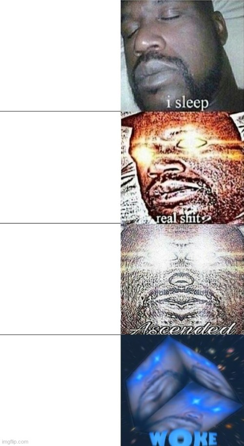 new shaq template | image tagged in shaq i sleep woke template,memes,i sleep | made w/ Imgflip meme maker