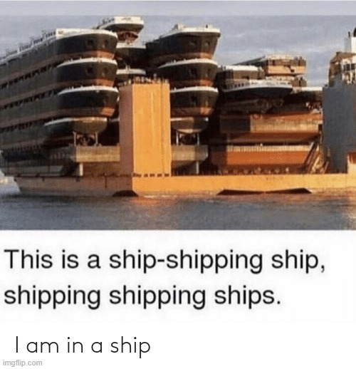 I'm shipped! read the tags | image tagged in can,you,say,that,fast | made w/ Imgflip meme maker