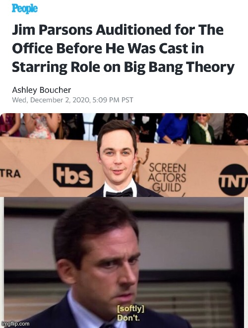 The Office | image tagged in big bang theory,the office,michael scott | made w/ Imgflip meme maker