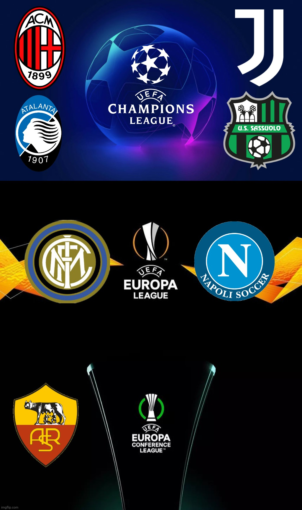 Serie A Teams In European Competitions A Half Intellectual Italian S Prediction Imgflip