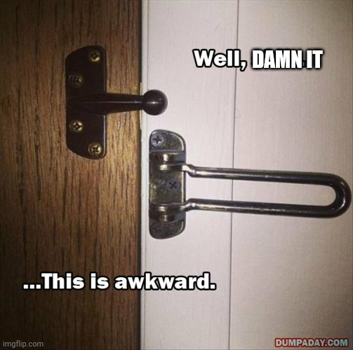 Ok, That's too much dumbness! |  DAMN IT | image tagged in funny,you had one job,fails,task failed successfully,memes | made w/ Imgflip meme maker