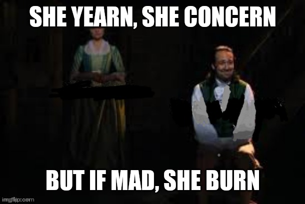 "mourning alexander and eliza hamilton from ""hamilton"" 