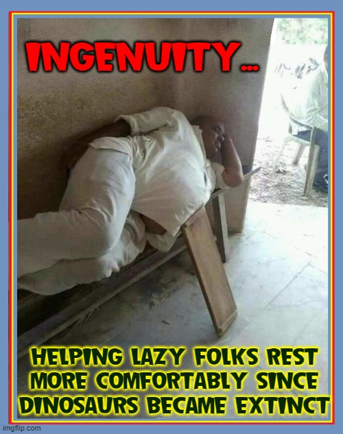 The All-New Stomach Crutch |  INGENUITY... HELPING LAZY FOLKS REST MORE COMFORTABLY SINCE DINOSAURS BECAME EXTINCT | image tagged in vince vance,laziness,lazy fat guy on the couch,memes,big belly,stomach | made w/ Imgflip meme maker
