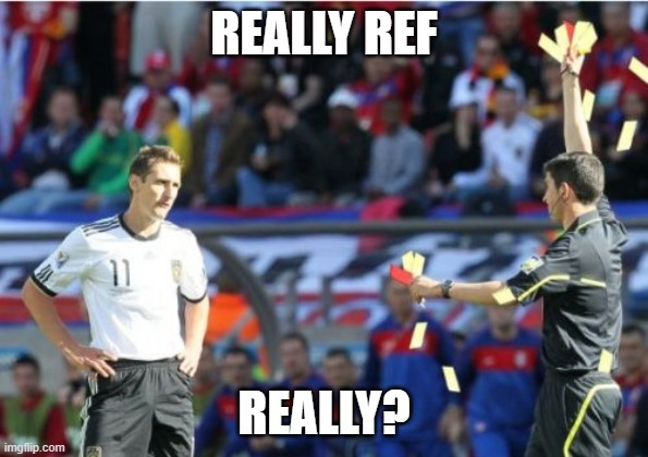 Asshole Ref |  REALLY REF; REALLY? | image tagged in memes,asshole ref | made w/ Imgflip meme maker