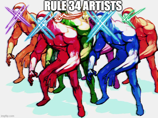 Fall Guys Lens Flare | RULE 34 ARTISTS | image tagged in fall guys lens flare | made w/ Imgflip meme maker