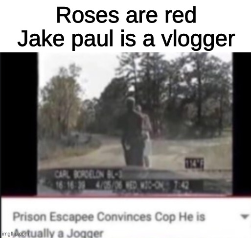 I'm really good at this type of meme |  Roses are red Jake paul is a vlogger | image tagged in blank white template,funny,funny memes,memes,roses are red,jake paul | made w/ Imgflip meme maker
