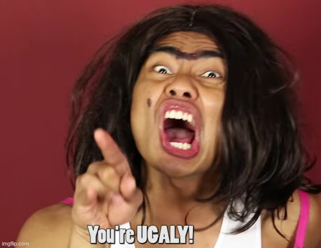 "made a new template called ""rolanda calling you ugly"" 
