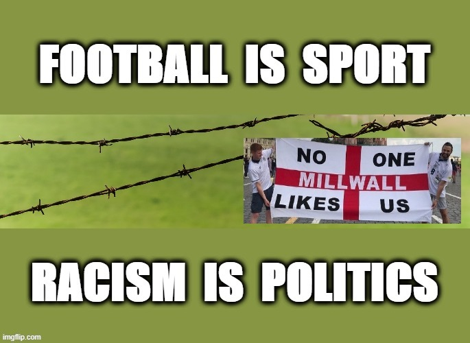 Football is Sport | image tagged in passive aggressive racism | made w/ Imgflip meme maker