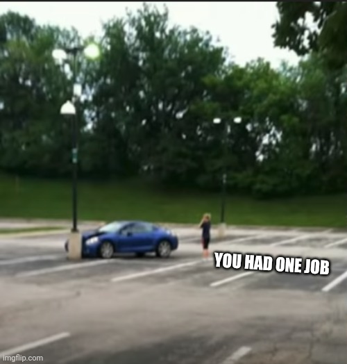 You Had One Job |  YOU HAD ONE JOB | image tagged in you had one job | made w/ Imgflip meme maker