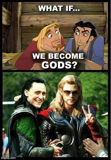 seems legit | image tagged in seems legit,funny,god,thor,loki,avengers | made w/ Imgflip meme maker
