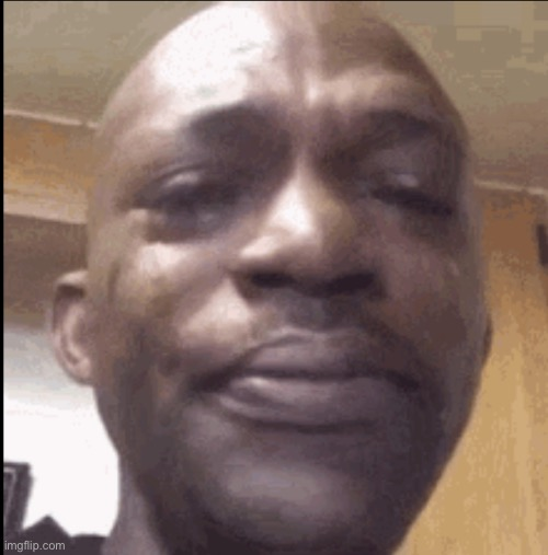 Crying black dude | image tagged in crying black dude | made w/ Imgflip meme maker