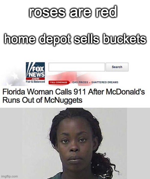 roses are red; home depot sells buckets | image tagged in roses are red,home depot,memes | made w/ Imgflip meme maker