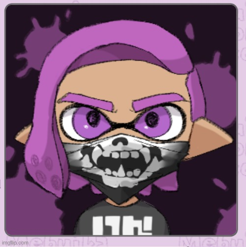 Skull | image tagged in splatoon | made w/ Imgflip meme maker