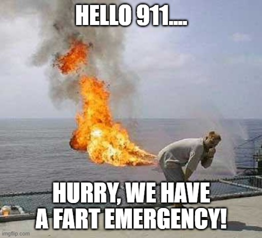 Darti Boy Meme | HELLO 911.... HURRY, WE HAVE A FART EMERGENCY! | image tagged in memes,darti boy | made w/ Imgflip meme maker