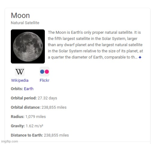 google fails again | image tagged in moon,fail,you had one job | made w/ Imgflip meme maker