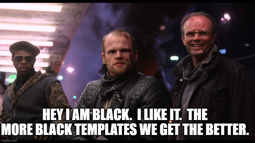 I LIKE IT! | HEY I AM BLACK.  I LIKE IT.  THE MORE BLACK TEMPLATES WE GET THE BETTER. | image tagged in i like it | made w/ Imgflip meme maker