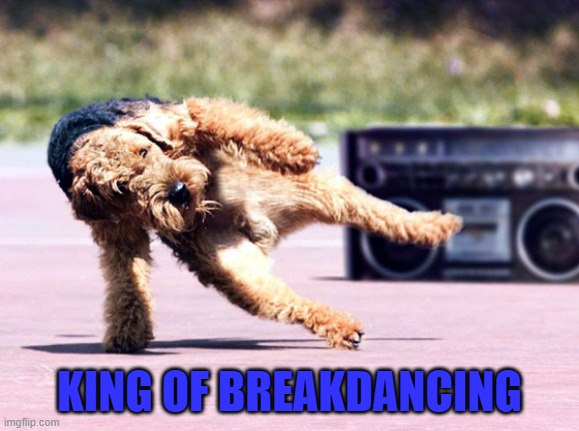 KING OF BREAKDANCING | made w/ Imgflip meme maker