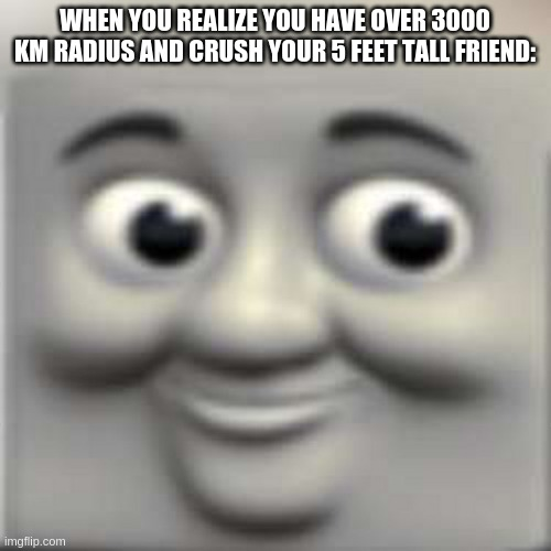 "Thomas the ""dank"" engine 
