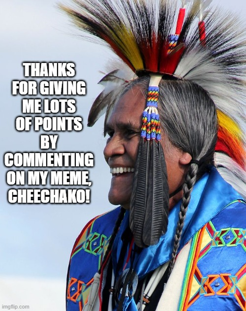 "A Chinook tribe word that means ""dumbass"" 
