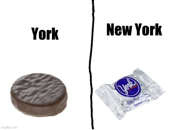 York candies |  York; New York | image tagged in candy | made w/ Imgflip meme maker