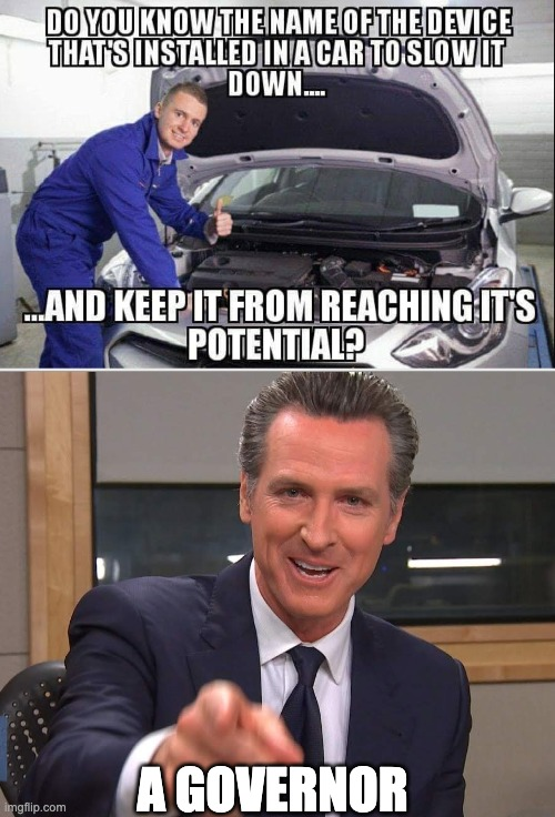 Newsom |  A GOVERNOR | image tagged in governor,california,government shutdown | made w/ Imgflip meme maker