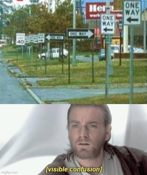"How many ""one way""s can there be? 