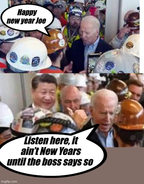 I don't work for you |  Happy new year Joe; Listen here, it ain't New Years until the boss says so | image tagged in joe exotic,political meme,memes,election 2020,politics suck | made w/ Imgflip meme maker