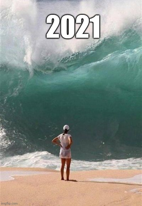 Wave | 2021 | image tagged in wave | made w/ Imgflip meme maker