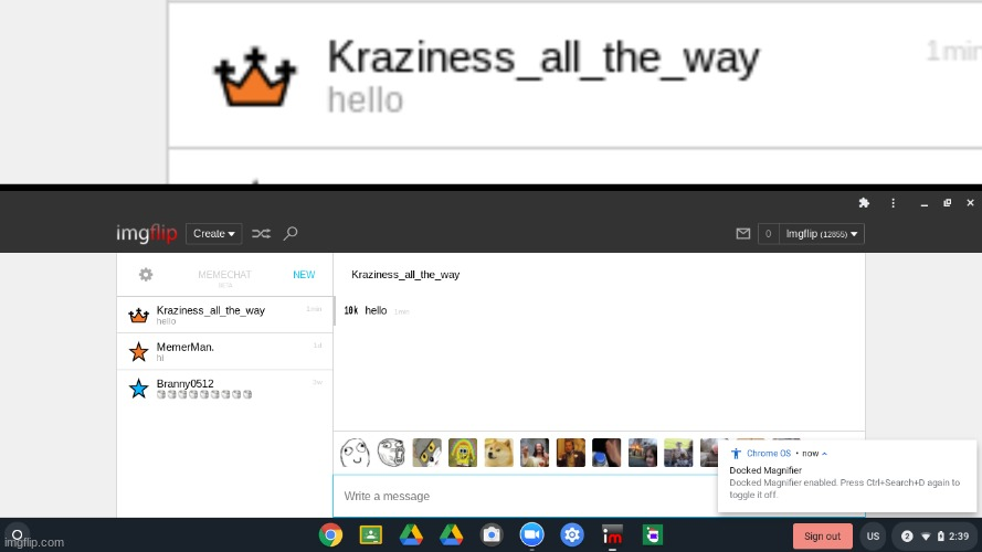 OMG #6 user on imgflip is following me! | image tagged in kraziness_all_the_way,omg,follow | made w/ Imgflip meme maker