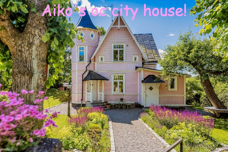 Aiko's oc city house! | made w/ Imgflip meme maker