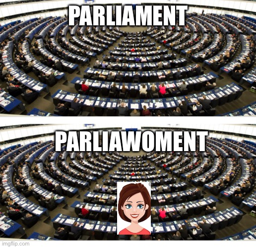Amen |  PARLIAMENT; PARLIAWOMENT | image tagged in funny memes,political meme,amen,meme | made w/ Imgflip meme maker