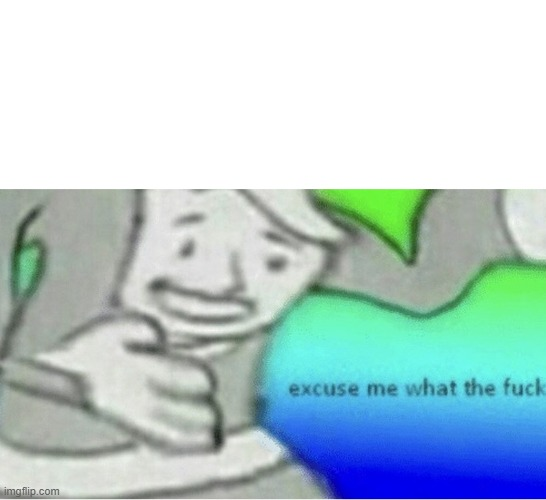 Excuse me wtf blank template | image tagged in excuse me wtf blank template | made w/ Imgflip meme maker