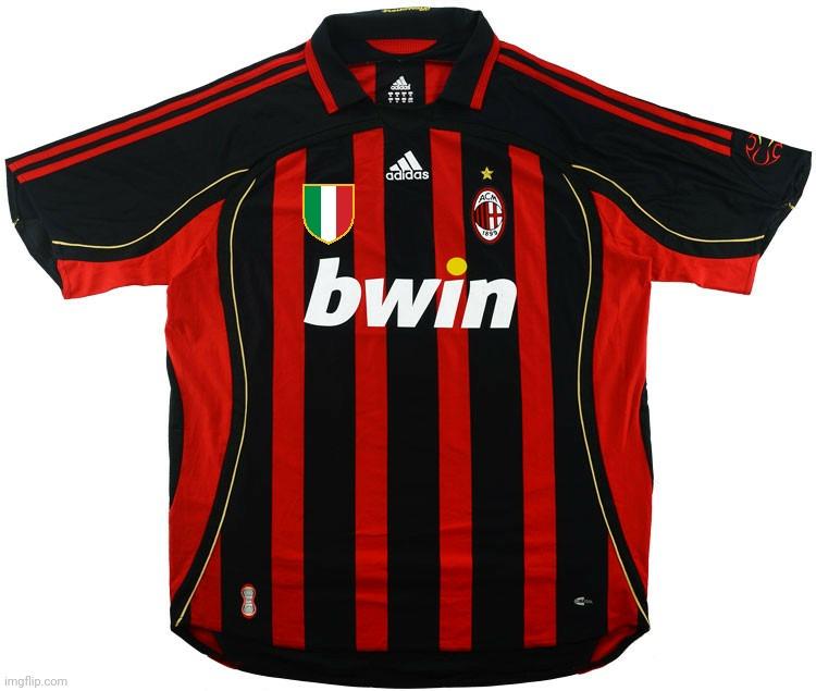 AC Milan 2006-2007 Home Jersey if the Calciopoli didn't ...