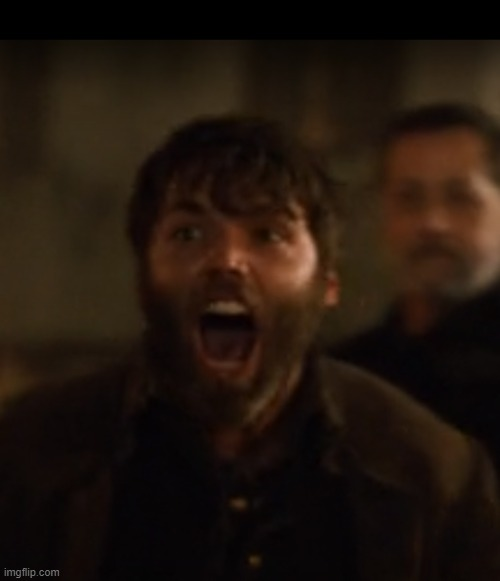 Angry Adam | image tagged in angry,screaming,yelling,salem,tv show,tv series | made w/ Imgflip meme maker