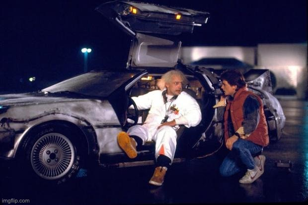Back to the future | image tagged in back to the future | made w/ Imgflip meme maker