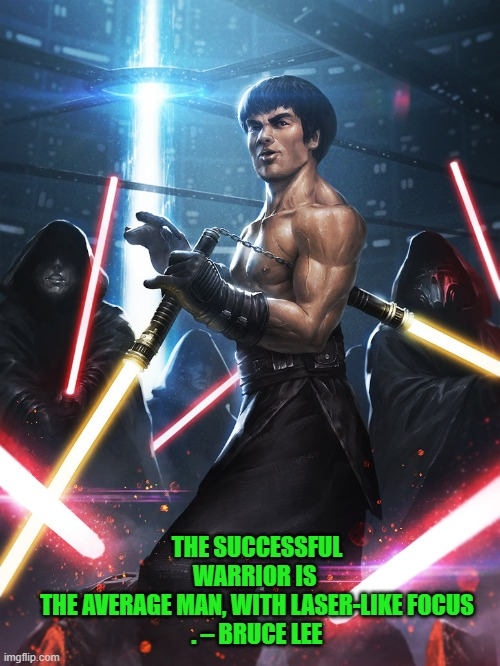 """Bruce Lee Jedi"" by Ameeeeba... DeviantArt 