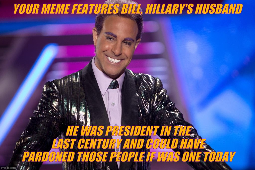 "Hunger Games - Caesar Flickerman (Stanley Tucci) ""Well is that s 