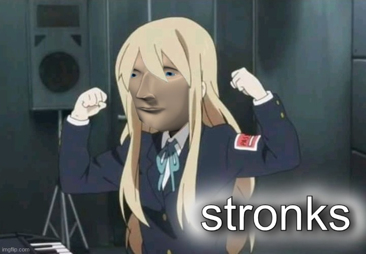 Mugi Stronks | image tagged in mugi stronks | made w/ Imgflip meme maker