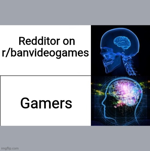 And thats a fact. |  Redditor on r/banvideogames; Gamers | image tagged in r/banvideogames sucks,gamers rule,meme,fun | made w/ Imgflip meme maker