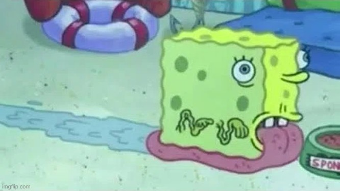 this is actual footage from spongebob | image tagged in memes,funny,spongebob,cursed image,wtf | made w/ Imgflip meme maker