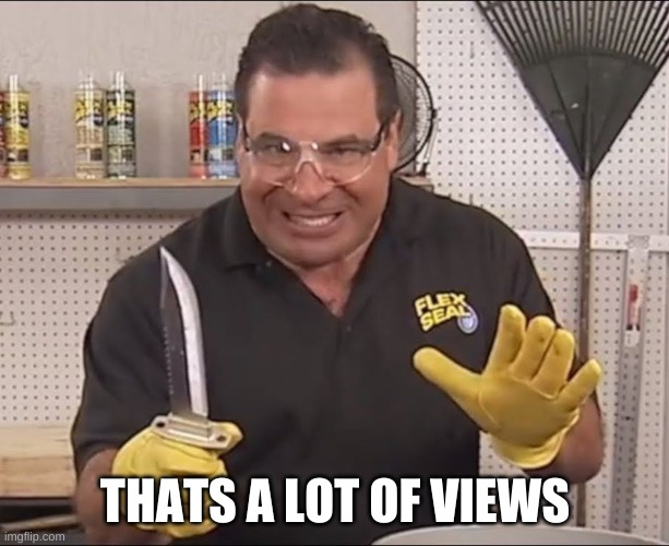 THAT'S A LOT OF VIEWS | image tagged in that's alot of damage | made w/ Imgflip meme maker