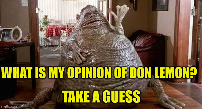 Don Lemon POS |  WHAT IS MY OPINION OF DON LEMON? TAKE A GUESS | image tagged in don lemon,pos | made w/ Imgflip meme maker