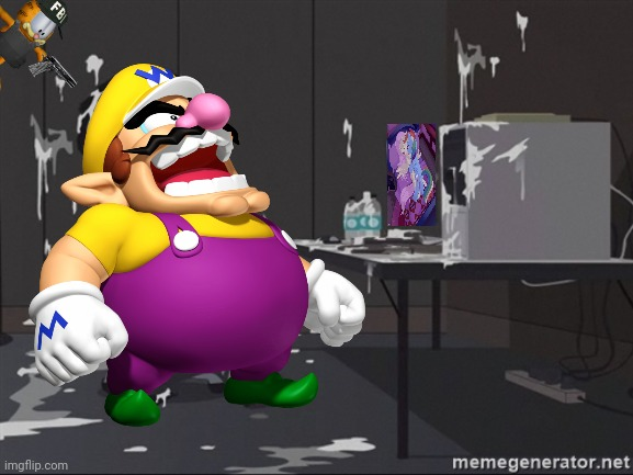 Wario gets killed by FBI Garfield while seeing My Little Pony.mp3 | image tagged in memes,fbi garfield,mlp fim,omg waaaa | made w/ Imgflip meme maker