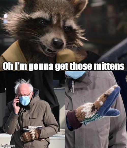 Bernie Sanders Mittens Imgflip