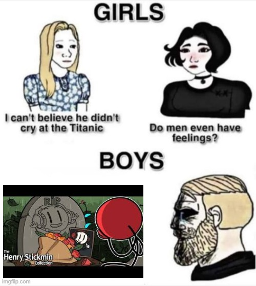 i die looking at this photo | image tagged in do men even have feelings | made w/ Imgflip meme maker