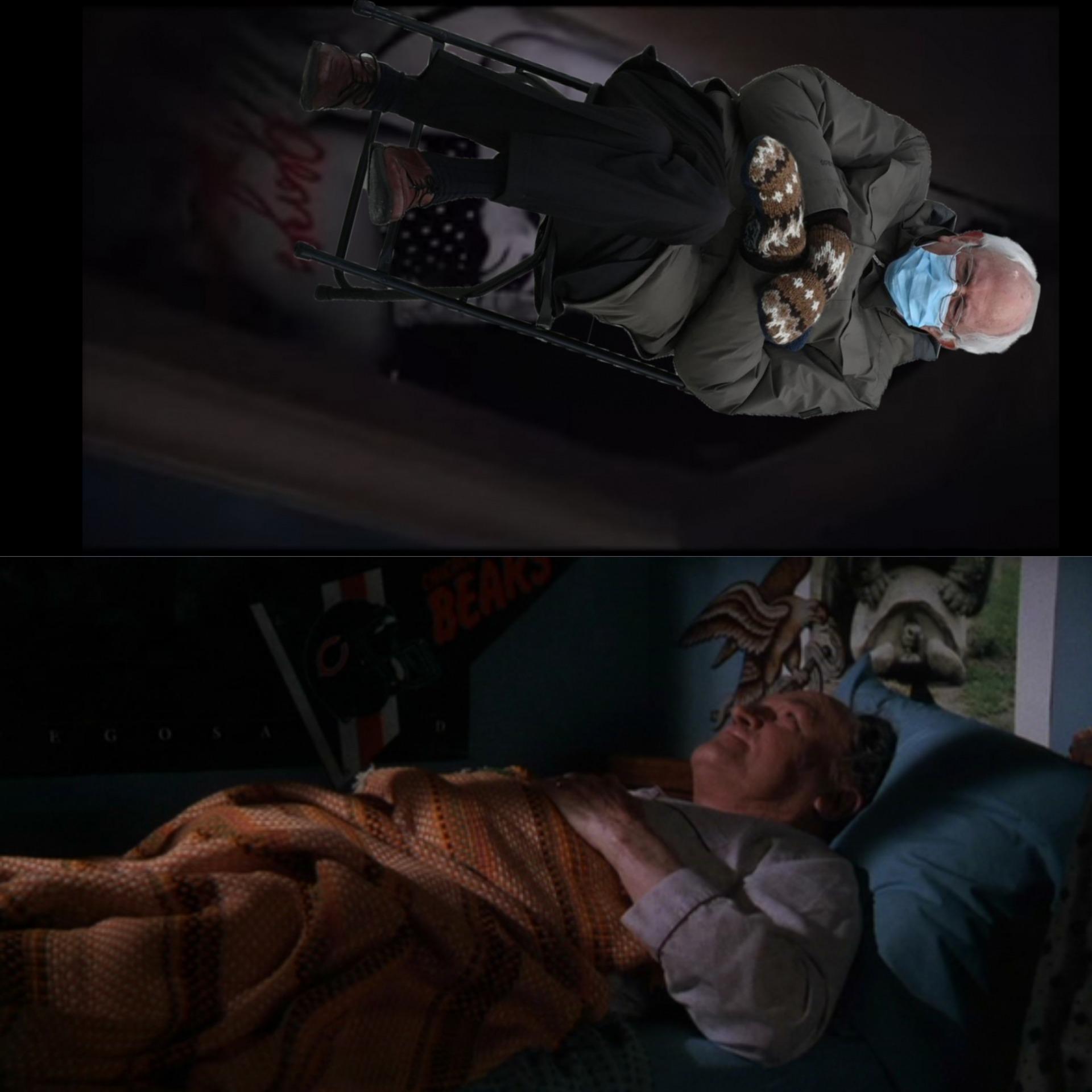Bernie Sanders Inauguration Meme Generator Imgflip
